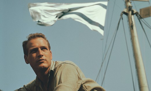 Paul Newman in Israel