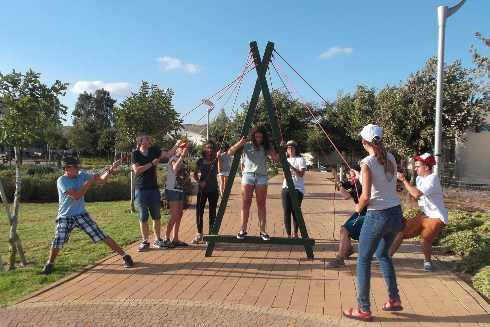 Group Activities at Jordan River Village